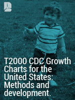T2000 CDC Growth Charts for the United States: Methotds and development.